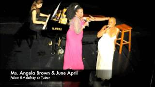 Ms. Angela Brown & June April - Route 66 (Live)