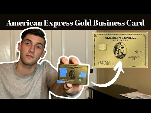 American Express Gold Business Card Unboxing & Review