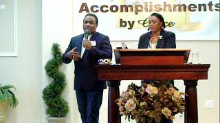 Don't let nothing choke your grace! Drs. Andre & Pam Golliday
