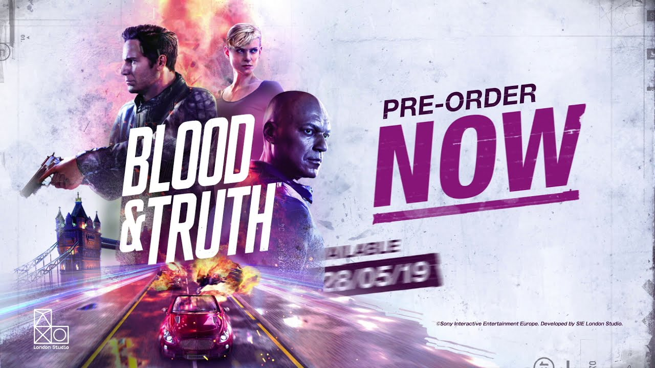 PS VR《Blood & Truth》宣传影像