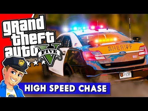 "GTA 5 LSPDFR ""High Speed Chase"" 