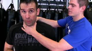Krav Maga Indy Matt- Choke from the side