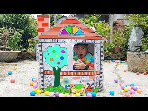 Trò Chơi Bé Pin Nhà Mẫu Giáo ❤ ChiChi ToysReview TV ❤ Đồ Chơi Trẻ Em Baby Doli Fun Song Bài Hát