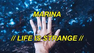 MARINA   LIFE IS STRANGE  Español & English