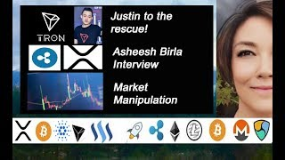 Ripple Asheesh Birla, Tron Justin Sun, Teeka Tiwari on Market Manipulation Palm Beach Letter