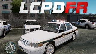 GTA IV : LCPDFR 1.0 - State Police Patrol