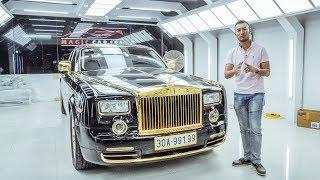 Khám phá Rolls Royce Phantom phiên bản Rồng Vàng độc nhất Việt Nam  XEHAY.VN 