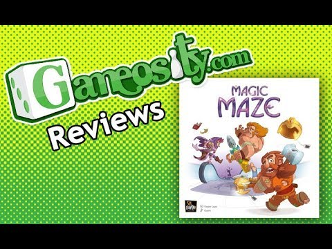 Gameosity Reviews Magic Maze