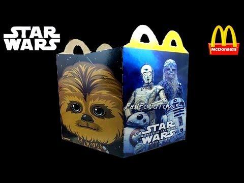 2020 Next McDonald's Happy Meal Toys USA 2019 Star Wars & Disney Frozen 2 Mindblown Discovery Robots