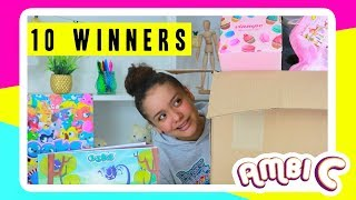 Story Time Giveaway 10 Winners Creative Kids Mini & Playing OOKS App Ambi C Vlog #ambisquad