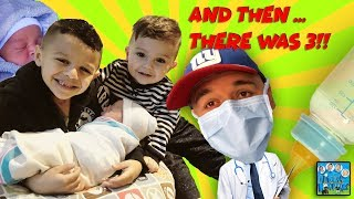 DINGLE HOPPERZ BABY HAS ARRIVED! UNCLE CRUSHERS THE DOCTOR?! | VLOG