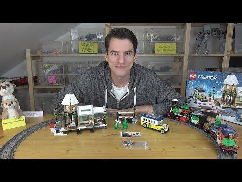 LEGO® Creator Expert 10259 - Winterlicher Bahnhof