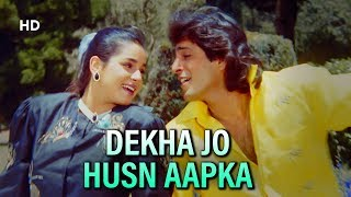 Dekha Jo Husn Aapka | Kasak (1992) | Chunky Pandey