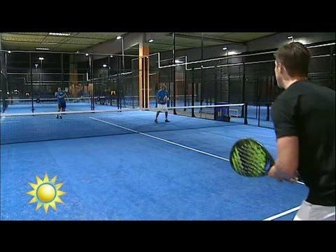"""Jonas Björkman: """"Paddeltennis en otrolig enkel sport att lära sig fort"""" - Nyhetsmorgon (TV4)"""