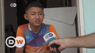 One Thai soccer player who narrowly escaped | DW English