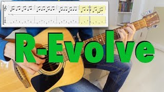 30 Seconds To Mars - R-Evolve (acoustic guitar cover + tabs)