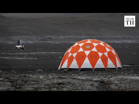 NASA tests new Mars rover on Iceland's lava field