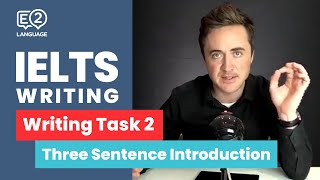 IELTS Writing Task 2: The 3 Sentence Introduction by Jay!