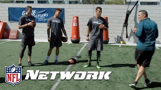 Mahomes & Trubisky Compete w/ Fellow 2017 QB Prospects On & Off The Field