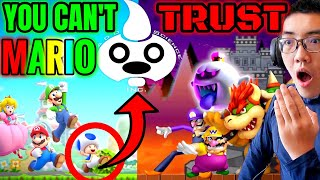 〘GOOD GUY OR BAD GUY〙 HAVE YOU FORGOTTEN WHO TO TRUST❓😠.. Game Theory: Super Mario...BETRAYED! 🆁🅴🅰🅲🆃