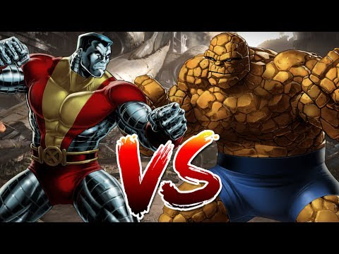 The Thing VS Colossus | Who Wins?