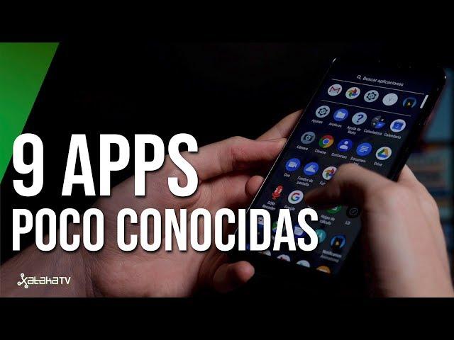 Top Apps INTERESANTES y poco conocidas para Android