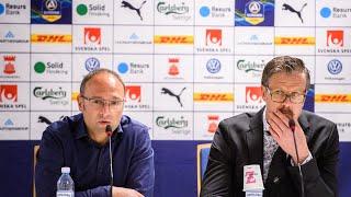 Presskonferens Efter HIF – AIK