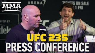 UFC 235 Press Conference   MMA Fighting