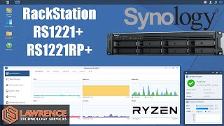 Synology Ryzen Based RackStation RS1221+/ RS1221RP+ Review