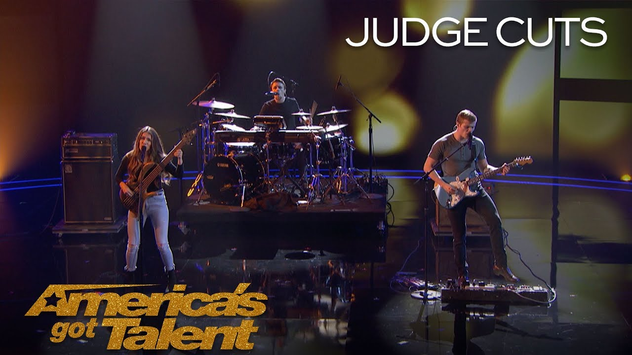 "We Three: Sibling Band Perform Touching Original Called ""Lifeline"" - America's Got Talent 2018 thumbnail"
