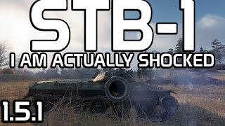 I am Actually Shocked! STB-1!