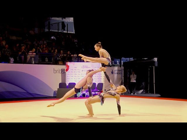 Highlights from the 2016 British Gymnastics Championship Series
