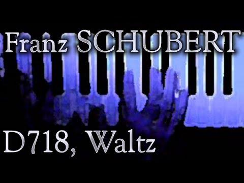 D 718 Variation on a waltz by Diabelli free sheet music by Schubert