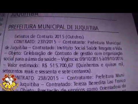 Diário Oficial de Juquitiba dia 3 de Janeiro 2016