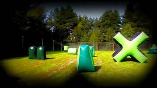 preview picture of video 'Pole do speedballa - www.paintball-suszec.pl'