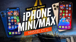 Apple iPhone 12 Mini & Apple iPhone 12 Pro Max: Road Trip Review
