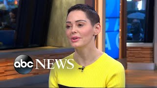 Rose McGowan speaks out on #MeToo, sexual abuse in Hollywood