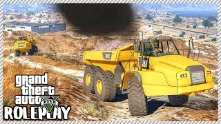 GTA 5 Roleplay - Extreme Dump Truck Offroading | RedlineRP #47