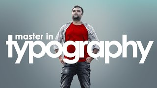 Tips To Master Typography For Graphic Designers Or UI/UX Designers (Hindi Tutorial)