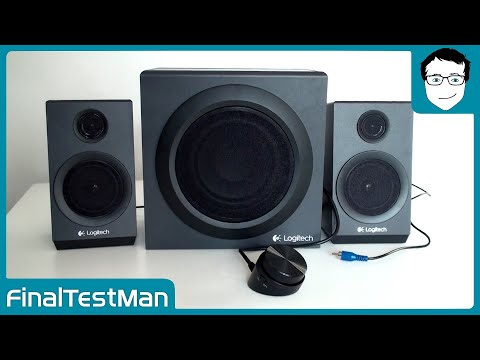 Logitech Z333 Lautsprecher Sound Test | Final Test Man