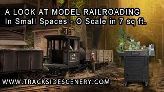 A Look At Model Railroading In Small Spaces