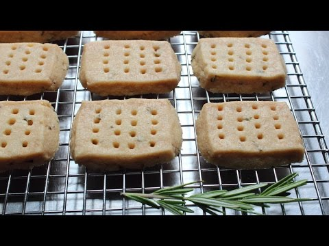 Rosemary Shortbread Cookies – How to Make Shortbread Cookies