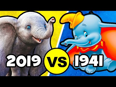 Top 12 CHANGES & EASTER EGGS Disney Made In DUMBO (2019)