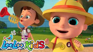 I Love The Mountain   Educational SONG For Toddlers |  LooLoo KIDS
