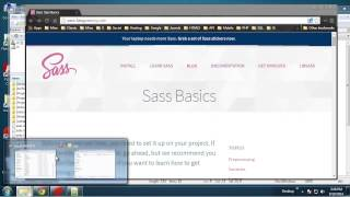 Get Started With Sass on Windows