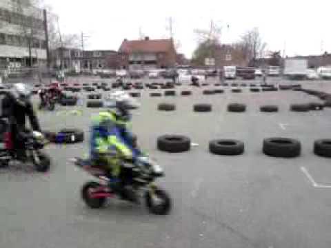 Minibikes @ Gennep on Wheels