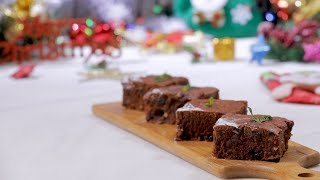 Christmas Recipe - Chocolate Brownie