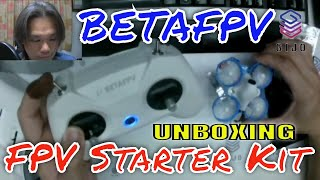 Unboxing 65mm Micro Tinywhoop BETAFPV FPV Racing Drone Starter Kit