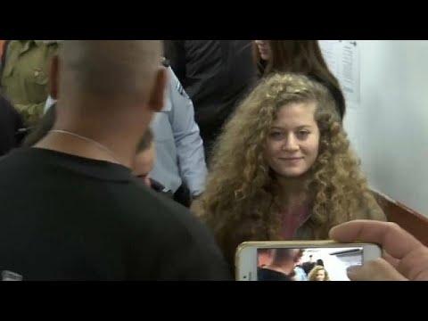 Comienza el juicio militar contra la menor palestina Ahed Tamimi