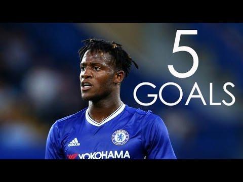 Michy Batshuayi - First 5 Goals For Chelsea FC - HD